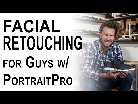 Facial Retouching for Guys Tutorial   PortraitPro StudioMax   Episode 9