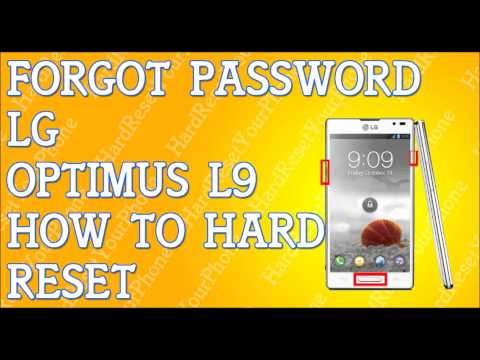 Forgot Password LG Optimus L9 How To Hard Reset