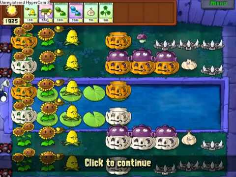 Let's Play Plants Vs Zombies 65: Supervivencia dificil: Niebla