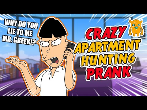 Crazy Apartment Hunting Prank - Ownage Pranks