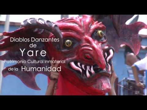 Diablos Danzantes de Yare 2013 Presidente de la Cofradía