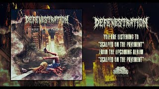 DEFENESTRATION - SCALPED ON THE PAVEMENT [DEBUT SINGLE] (2019) SW EXCLUSIVE