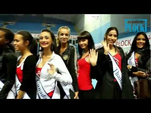 Kandydatki do Miss Supranational 2011 w Orlen Arenie - www.tp.com.pl