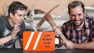 A gente consegue abrir uma caixa-preta de avião? ft. Canal Aero