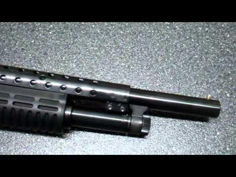 Mossberg 500 12 gauge Tactical with Kicklite Stock