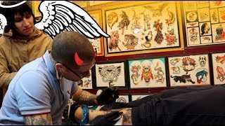 MY 100TH VIDEO ON YOUTUBE! / CRAWLING PANTHER TATTOO