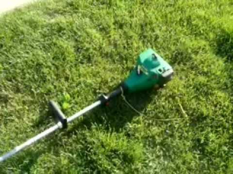 1998 Weed Eater XT600 Gas Trimmer Review
