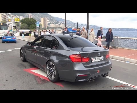 BMW M3 F80 w/ Akrapovic Exhaust - Too Loud for the police !
