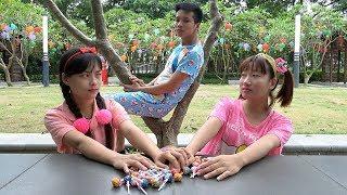 Trò Chơi Chia Đều Kẹo Mút ❤ BIBI TV ❤