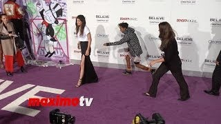 Jaden Smith and Kylie Jenner Avoid Posing Together at Justin Bieber