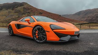 How Much He Pays To Lease This McLaren 570s Spider!!