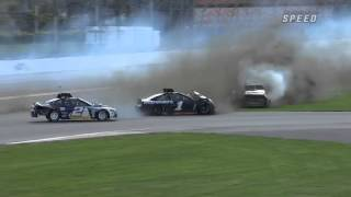 Big crash at Daytona Testing 2013