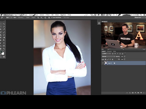 How to Use the Pen Tool in Photoshop