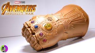 """INFINITY GAUNTLET"" by Hasbro Review | Avengers Infinity War"