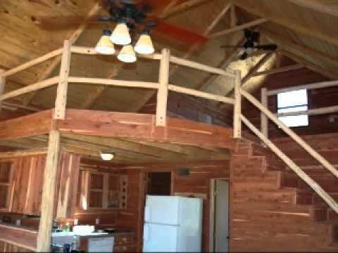 Rustic Cedar Cabin Loft Cabins Flv Youtube