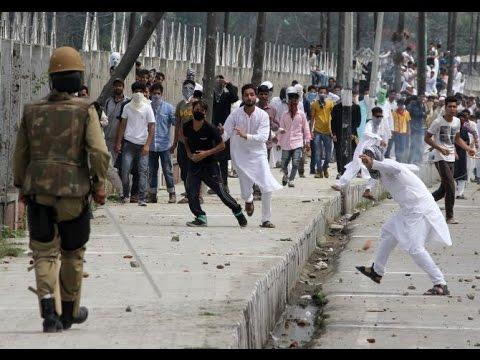 Clashes in Srinagar & Anantnag