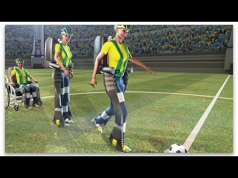 World Cup exoskeleton allows paraplegic to walk again