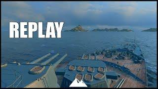 CONQUEROR, der Teufel und das Feuer ähm AP - World of Warships | [Replay] [Deutsch] [60fps]