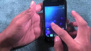 Official Android Ice Cream Sandwich Review Nexus S