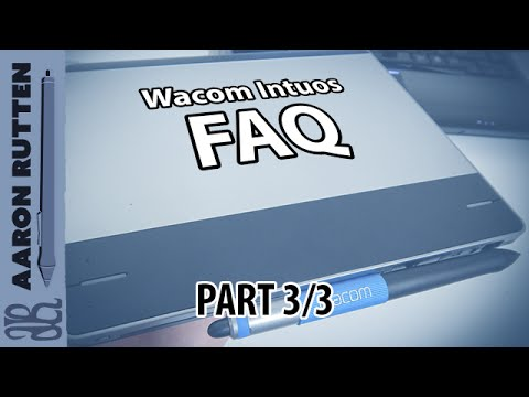 Wacom Intuos FAQ (Part 3) - Comparing Models & Maintenance