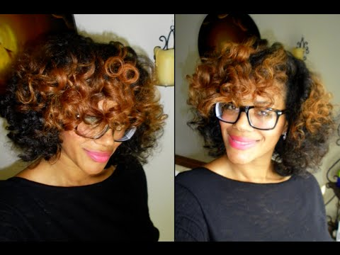 How To Dry Rod Your Natural Hair DIY Stretched Styles