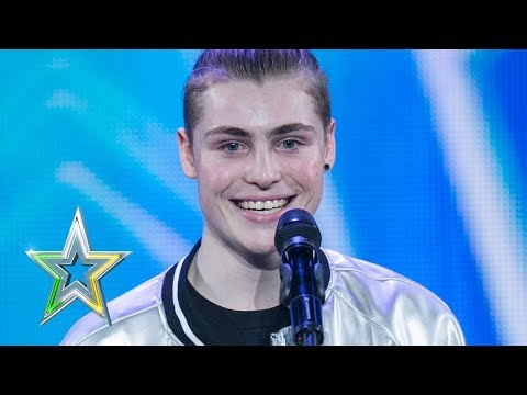 Zacc shows the IGT judges how to 'Vogue'   Auditions Week 1   Ireland's Got Talent 2018