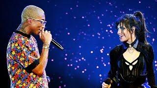 "Download Lagu Camila Cabello & Pharrell Perform SIZZLING ""Sangria Wine"" Duet At 2018 Billboard Music Awards Gratis STAFABAND"