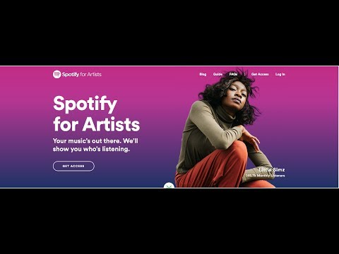 Get Access To Your Spotify Artist Account