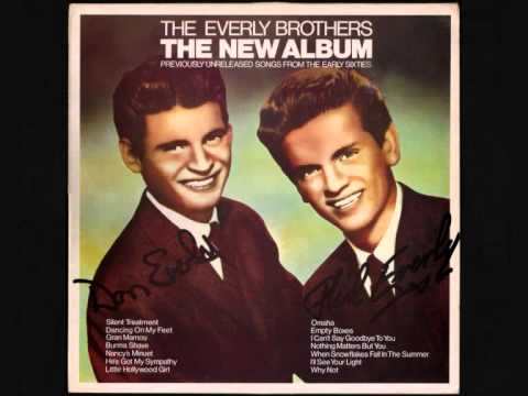 Everly Brothers - Hes Got My Sympathy