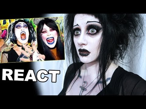 Goth Reacts to Gigi Gorgeous Goth Glam Makeover | Black Friday