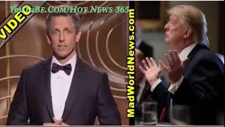 Seth Meyers Insults Trump In Golden Globes Monologue, Gets Nasty Surprise Moments Late