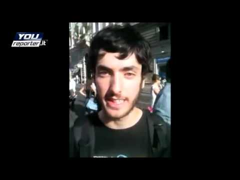 Roma manifestazione indignados 12-10-2011