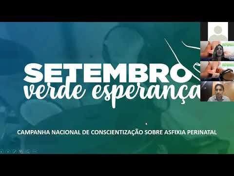 Setembro Verde Esperança | Live aborda conscientizaçao sobre asfixia perinatal
