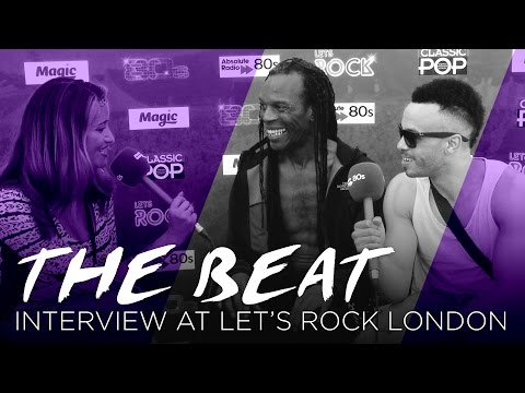 The Beat chat to Absolute 80's at Let's Rock London Festival