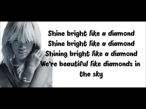 Dimaonds- Rihanna ( Lyrics-Paroles)