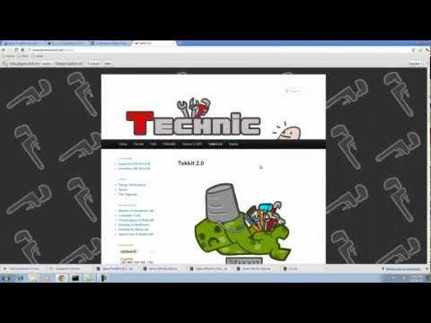 Technic Pack -Tutorial Instalação + Texture pack Sphax(PT-BR)