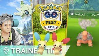 TORKOAL, CELEBI, PVP? - What to expect at Pokémon GO Fest 2018