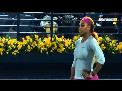 Serena Williams vs Jelena Jankovic - WTA Dubay Tennis Championship 2014 - Highlights