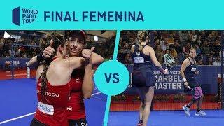 Resumen final femenina Marrero/Ortega Vs Salazar/Sánchez - Cervezas Victoria Marbella Master