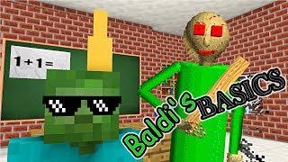 Monster School Baldi 39 S Basics Become Teacher Minecraft Animation