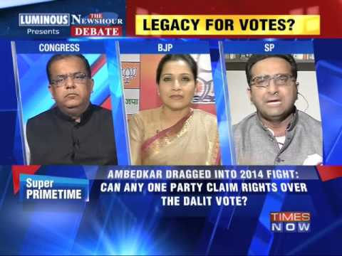 The Newshour Debate: Scrambling for Ambedkar - Part 1 (14th...