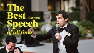 The Best (Best Man) Speech: My quest to do the best speech of all time.