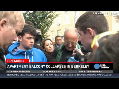 Berkeley balcony collapse kills Irish students