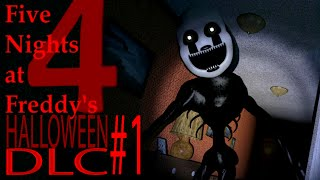 Halloween DLC! Mangle And The Puppet Appear! [Five Nights at Freddy's 4 #8 - Let's Play]
