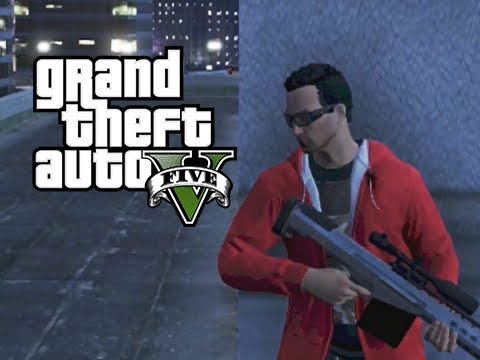 GTA 5 Online Mission The Parking Garage Killing Documents YouTube