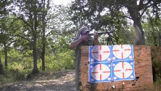 ROSSI M-92 44mag leveraction (grouping at 40/50 yards)