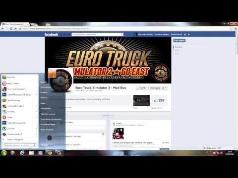 Como Instalar o Euro Truck Simulator 2 1.5.2 + DLC [TUTORIAL]