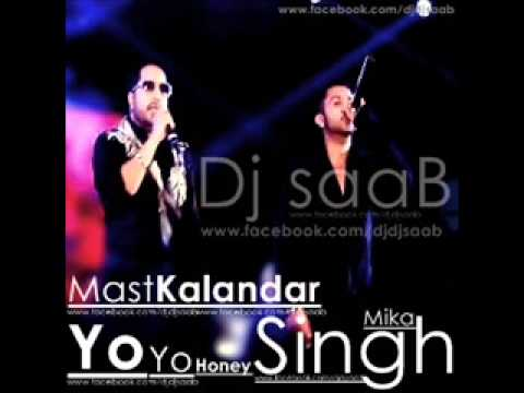 Mast Kalandar Mika Singh (Bass Drum Mix) Dj saaB