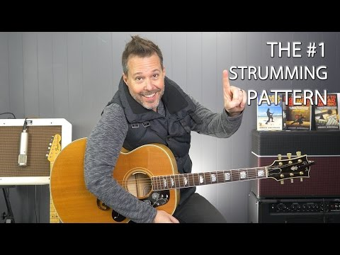 media strumming patterns for ho hey by the lumineers on acoustic guitar