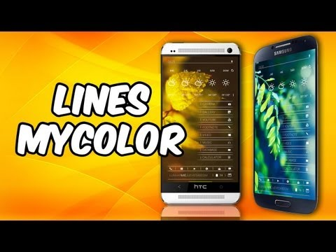 PERSONALIZACION [Lines] THENEXT HOMESCREENS  [AndroideHD]